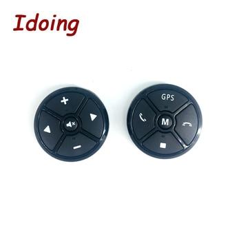 IDoing عجلة توجيه سيارة زر التحكم عن بعد DVD/2 الدين الروبوت بلوتوث اللاسلكية العالمي التحكم عن بعد + GPS والملاحة