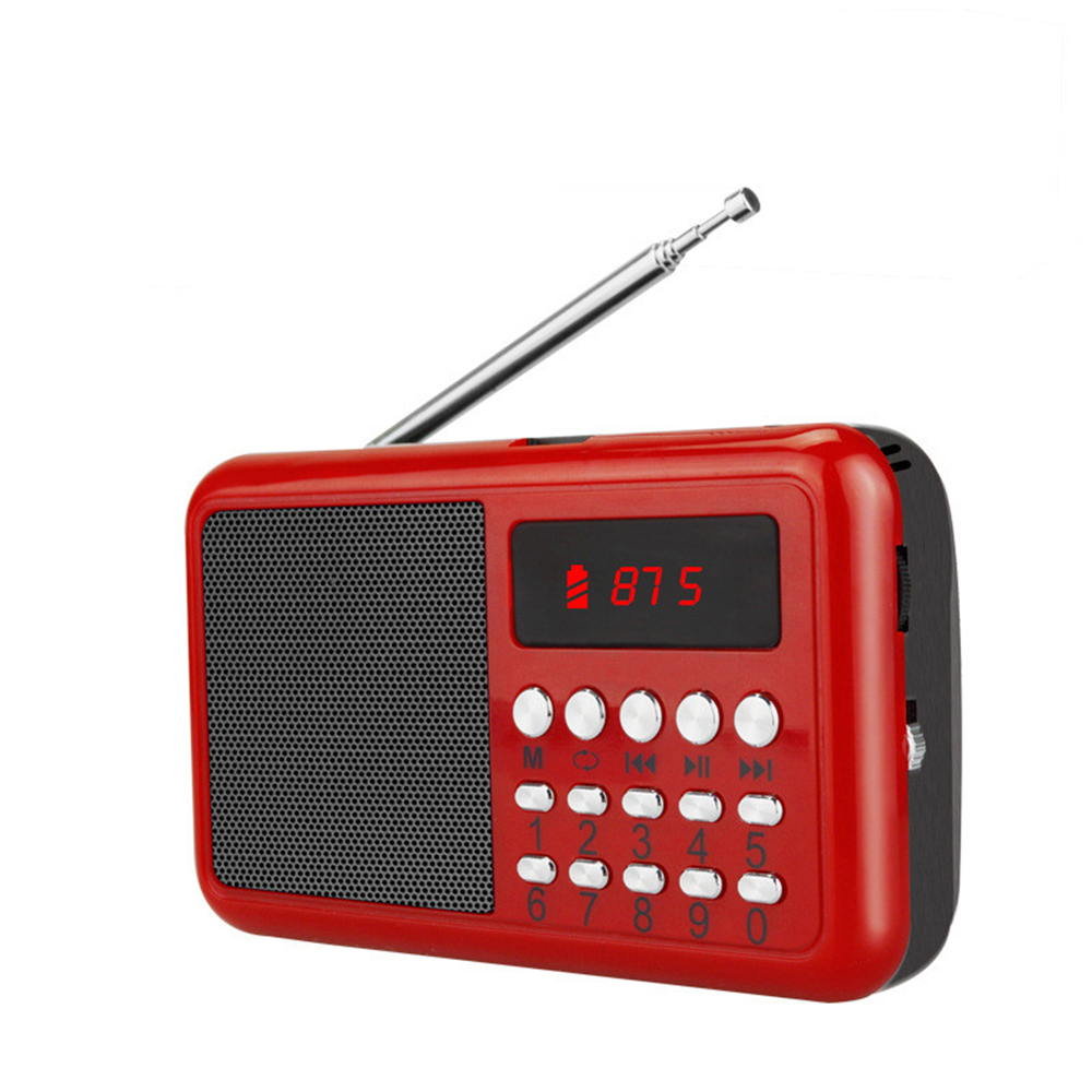 3 in 1 Portable Radio Card Neutral Elderly MP3 Player Speaker Support TF Card&USB Drive Music MP3/4 Mini FM Radio Loudspeaker 1 6 lcd 2x3w mini usb rechargeable mp3 player speaker with fm usb tf silver
