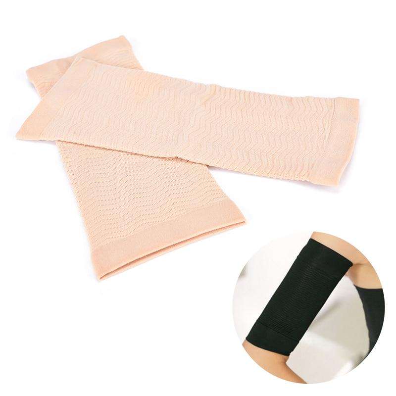 Damen-accessoires DemüTigen 1 Paar Gewicht Verlust Kalorien Aus Schlank Abnehmen Arm-former Massager Ärmeln 22-35 Cm