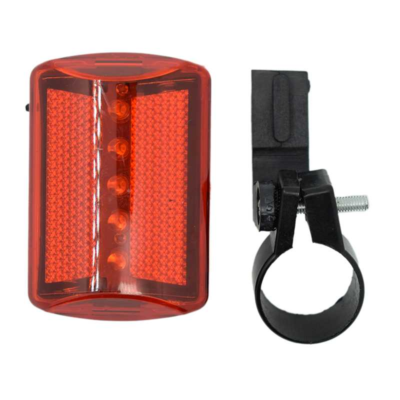 2017 Hot Sale Bicycle Tail Light 5 LED Red Light 7 Modes Cycling Safety Warning Flashing Lamp Tail Light Bike Accessories