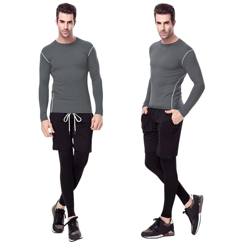Yuerlian Quick Dry Compression Laufshirt Enge Trikots Fitness Sport - Sportbekleidung und Accessoires - Foto 3