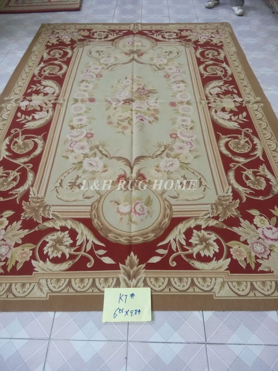 Free shipping 2x3m French Aubusson carpets for home decoration, French abusson hand weave woolen rugFree shipping 2x3m French Aubusson carpets for home decoration, French abusson hand weave woolen rug