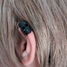 no pierced ear clip on earrings for women brinco earcuff pendientes de skeleton cuff hole men jewelry