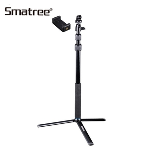 Image 2 - Smatree SmaPole For GoPro hero7/6/5/4/3 Session Cameras Ricoh Theta S Telescoping Selfie Stick Tripod Stand for DJI Osmo Action