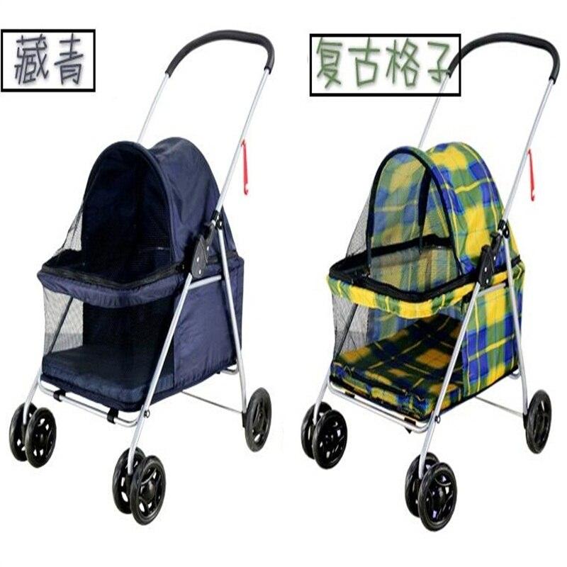 Portable Dog trolley folding Pet cart Pet Strollers