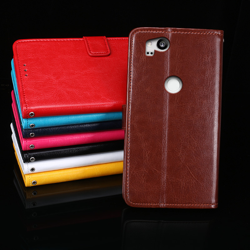 Wallet Leather Case For Google Pixel 2 Luxury Flip Coque Phone Bag Cover For Google Pixel 2 Cases 5.0 Inch Fundas Fapmce Brand