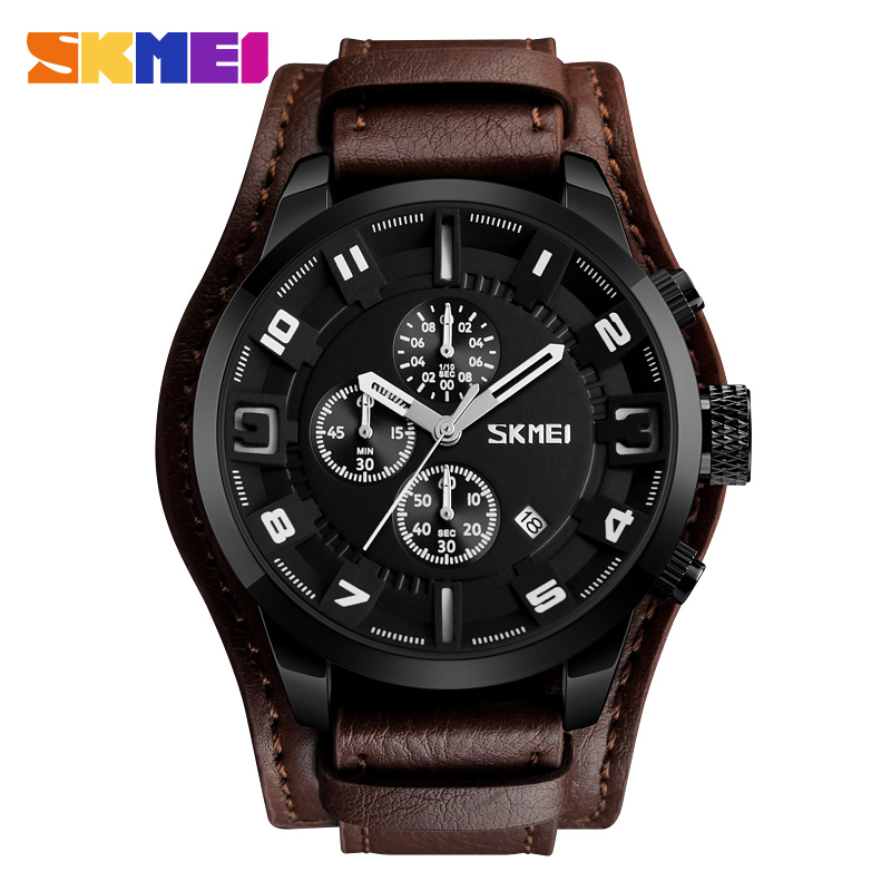 Man Watch SKMEI Brand Luxury Men Sports Watches Fashion Business Male Wristwatch Waterproof Quartz Watch Relogio Masculino