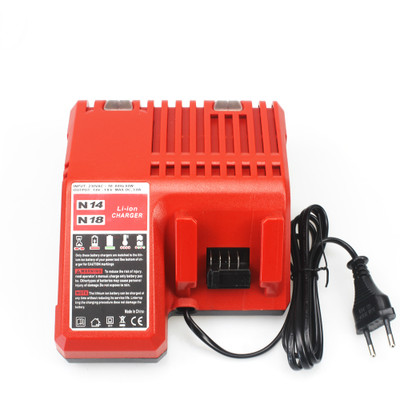 3A Fast Charger Replacement for Milwaukee M18 14.4V 18V Li-ion Battery 48-11-1815 48-11-1820 48-11-1840 48-11-1850 48-11-1828