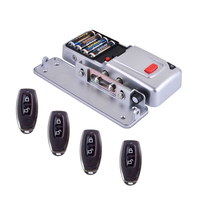 DIY Dry Battery Wireless Remote Access Control Systems Electrical Remote Control Door Lock Off With 4