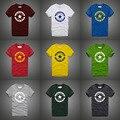 Лето футболка хлопок высокого качества мужчины марка одежды хип-хоп звезды украшают