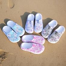 Summer Sandals Women Shoes Beach Sandals Crocse Women Outdoor Summer Beach Aqua Shoes Quick Drying W