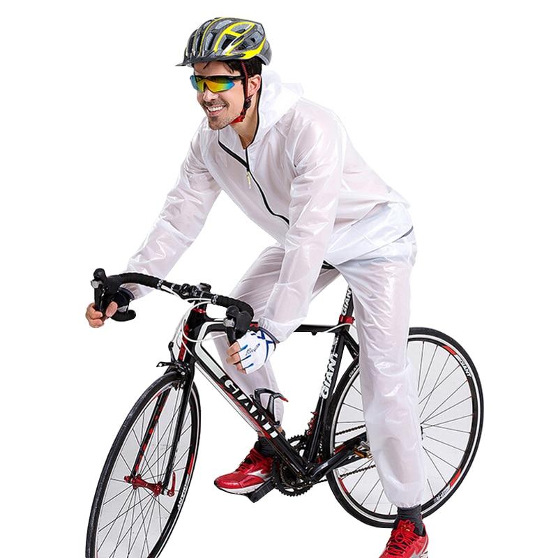 Impermeable Ciclismo Jersey chaqueta de lluvia Ciclismo viento ...