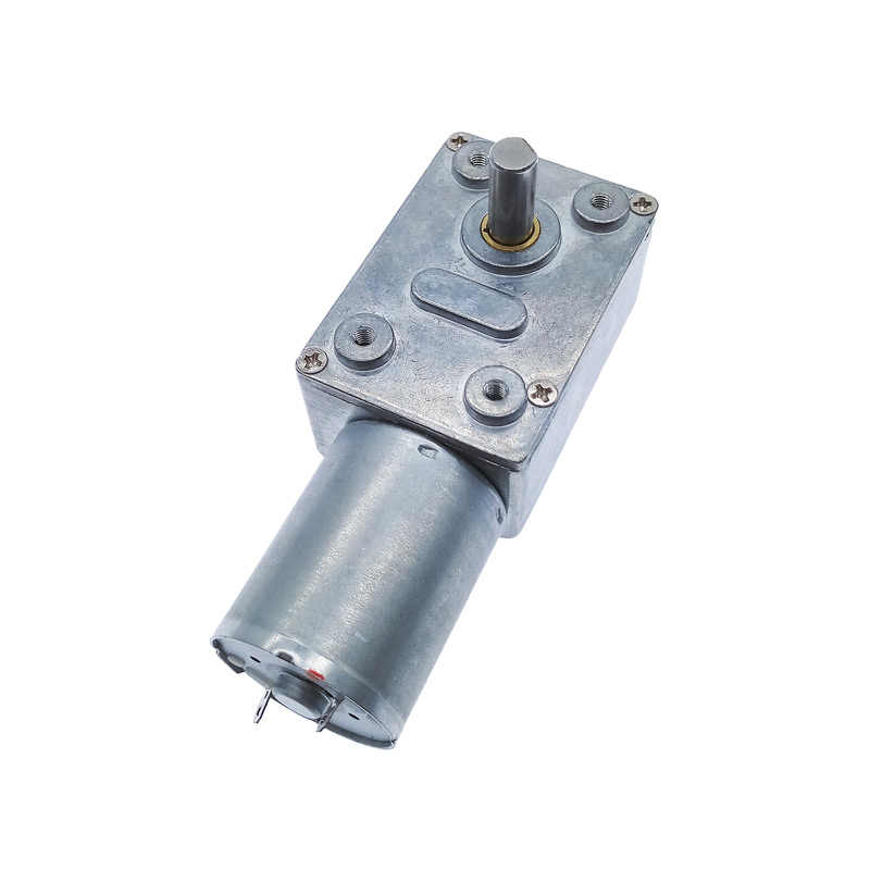 ZGY370 DC 12V Gear Reduction Motor Worm Reversible Turbo Geared Gearbox Reducer 2RPM - 100RPM 200RPM 46/32