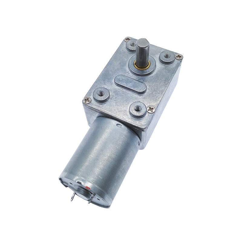 GW4632-370 DC6//12V Right Angle Worm Gear Motor Power Off Self-Locking For Robot