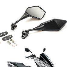 Motorbike Motorcycle Mirror Racer Rearview Side rear view Mirror For yamaha r6 r3 my 07 09 xj6 fz1 xmax ybr 125 yzf yz tracer900(China)