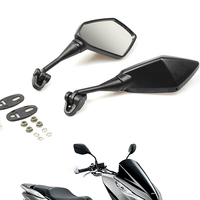 Motorbike Motorcycle Mirror Racer Rearview Side rear view Mirror For yamaha r6 r3 my 07 09 xj6 fz1 xmax ybr 125 yzf yz tracer900