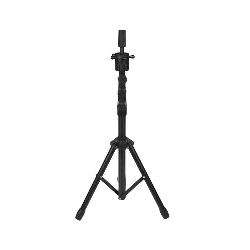 Salon Adjustable Wig Tripod Stand Bracket Hair Mannequin Training Head Holder Hairdressing Clamp Holder Hairdressing Tool steel mannequin tripod stand hair salon adjustable tripod wig stand hairdressing training head clamp holder