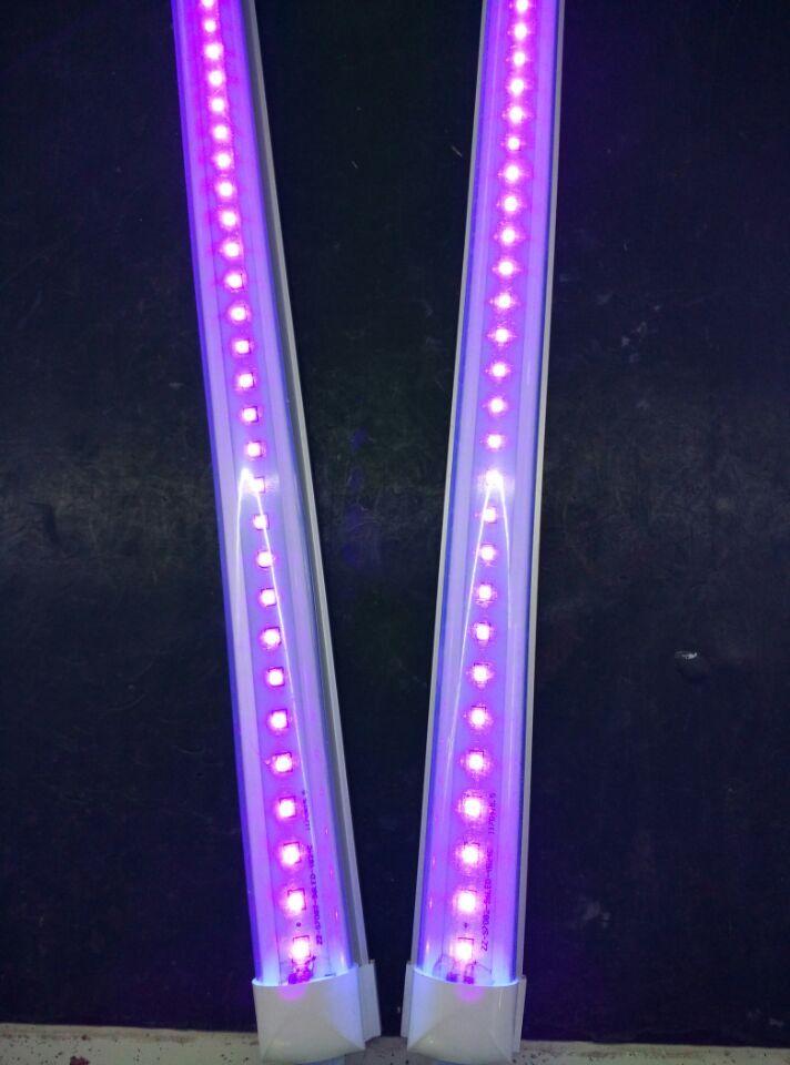 395nm 400nm Uv Sterilizer T8 Led Tube Light 1 2m 18w