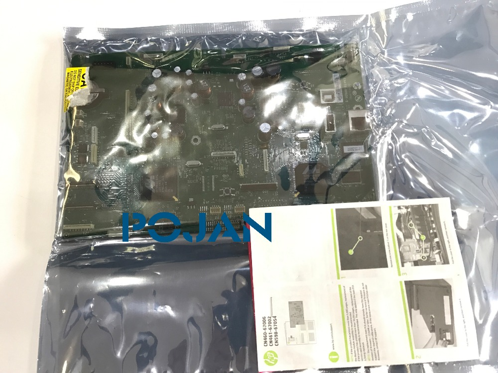 NEW CN461-67002 CN463-80023 FOR Officejet PRO X476DW DN Main PCA Board Formatter Boar INK Printer cartridge card parts POJAN bulk price 5 pieces lots pt093 logic board for canon l100 l150 formatter board original and new officejet printer parts