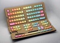 IKBC KBC G104 PBT Double shot Translucidus Backlight Backlit Rinbow Keycaps Key Cap for Mechanical Keyboard