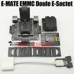 E MATE box Emate box Double E-Socket  support BGA153,169,162,186,221,529,100,136,168,254 UFI box, MEDUSA   EASY JTAG  BOX
