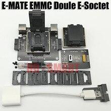 E MATE box Emate box Double e socket support BGA153,169,162,186,221,529,100,136,168,254 UFI box, MEDUSA EASY JTAG BOX