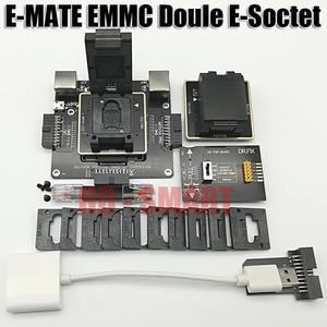 Image 1 - E MATE box Emate box podwójne gniazdo e socket BGA153,169,162,186,221,529,100,136,168,254 UFI box, MEDUSA EASY JTAG BOX