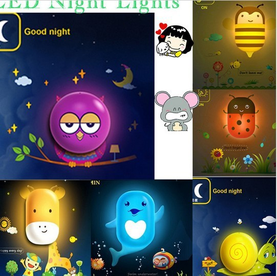 cute baby nice sleeping led night light kids room night light with rh aliexpress com Decorative Night Lights for Adults Cool Night Lights