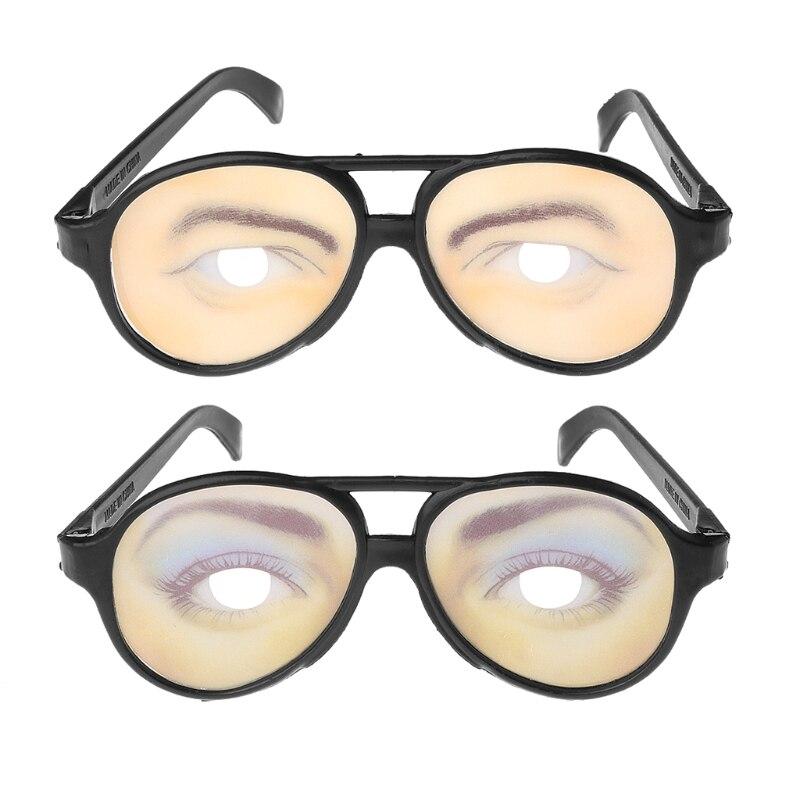 PRETEND NERD SPECS NOVELTY HALLOWEEN FANCY DRESS UP GLASSES