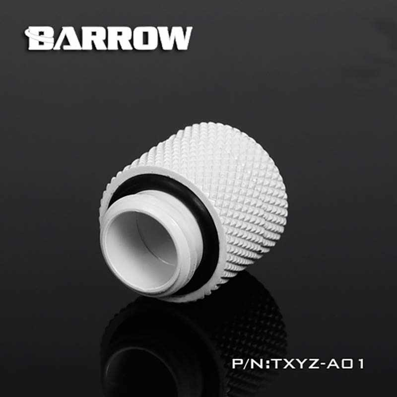 Barrow น้ำ cooler ขยายสกรูหมุนตัวเชื่อมต่อ G1/4 Cooling ฮีทซิงค์ gadget Fitting