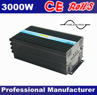 CE&RoHS Approved,Pure Sine Wave 3000W/3KW Power Inverter 12v dc to 230v ac