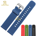 Silicone rubber watchband wristband bracelet 20mm waterproof Watch strap wristwatches band band for moto 360 2nd Generation 42mm