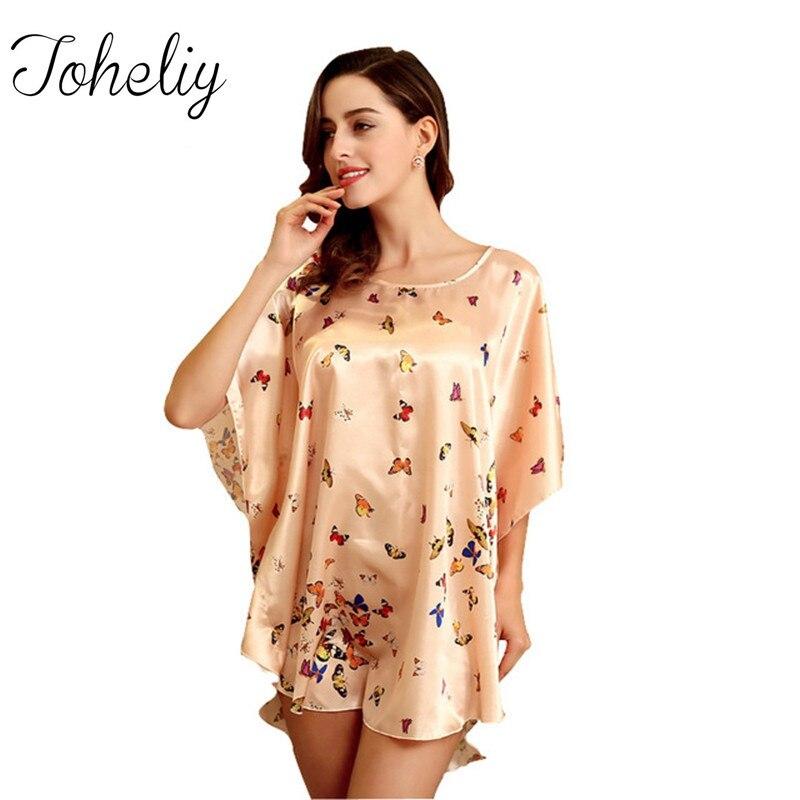 Queenplus Для женщин халат из искусственного шелка Pijama 2017 сна Топ Lounge дамы Халаты женский плюс Размеры халаты для Для женщин ...