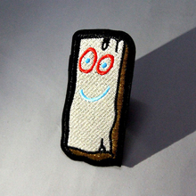 Pulaqi Cartoon Wood Board Patch On Clothes Avengers Patches for Clothing Embroidery Iron For Applique Stripe