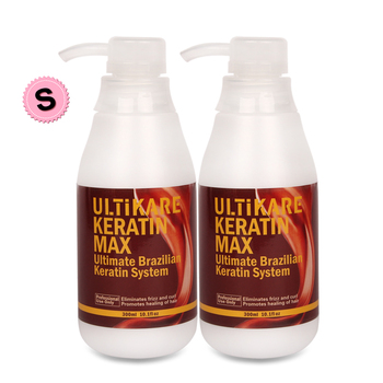 Top Effect Brazilian Chocolate Keratin Treatment 8% Formaldehyde 2pcs 300ml Keratin For Straighten & Repair Hair Free Shipping недорого