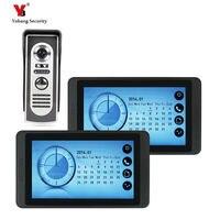 7'' TFT LCD Wired Door Home Intercom Video Doorbell System Doorphone IR COMS Night Vision Outdoor Camera 700TVL Color Monitor