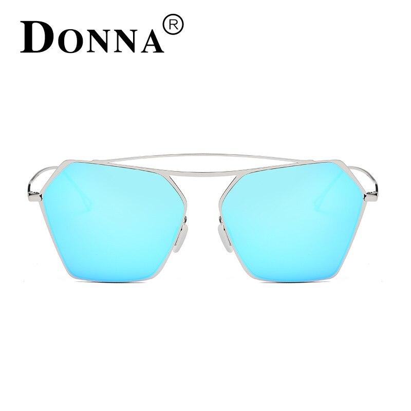 DONNA Women s font b Fashion b font Sunglasses Retro Style Metal Frame Glasses Famous Lady