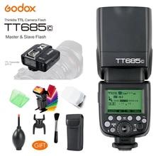 Godox TT685C Speedlite High-Speed Sync External TTL Flash, X1C TTL Flash & Trigger For Canon 1100D 1000D 7D 6D 60D 50D 600D 500D