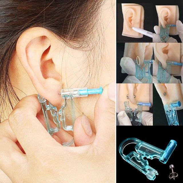 2018 New Arrival 1PC Earring Body Piercing Kit Ear Gun Stud Ear Disposable Asepsis Safety Drop Ship