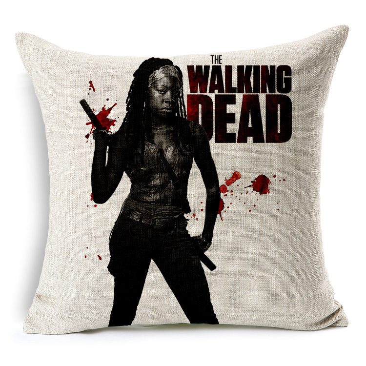 2015 New Personalized Pillow Cover The Walking Dead Pillow Case