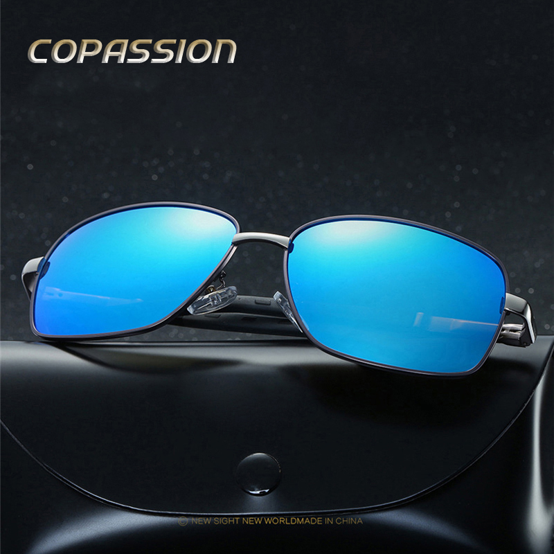 Aluminum Magnesium Brand Polarized Sunglasses Men Women Aviation Sunglass Polaroid lenses Male Eyewear Sun glases oculos de sol