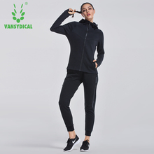 Workout Clothes Woman Sport Running Suit Breathable Loose Gym Yoga Pants Tracksuits Two-piece Suit For Winter