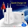 [Qualcomm Сертифицированных] VOXLINK Быстрая Зарядка 3.0 Полный 18 Вт USB Turbo Стены Быстрое Зарядное Устройство Для Samsung HTC LG A9 Сяо Mi