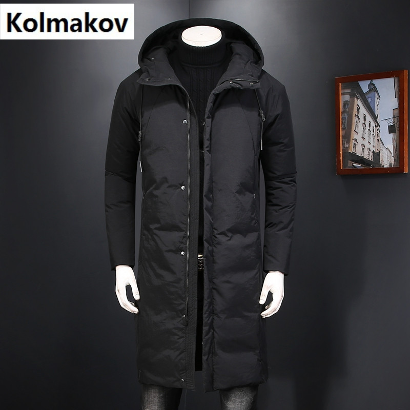 2017 winter new style Mens high quality down jackets Men 90% white duck down jackets classic Hooded winter jackets mens coats