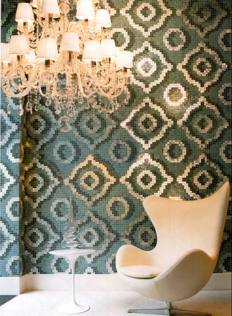 aliexpress.com : acquista cerchi mosaico bisazza mosaico ... - Piastrelle Bagno Mosaico Bisazza