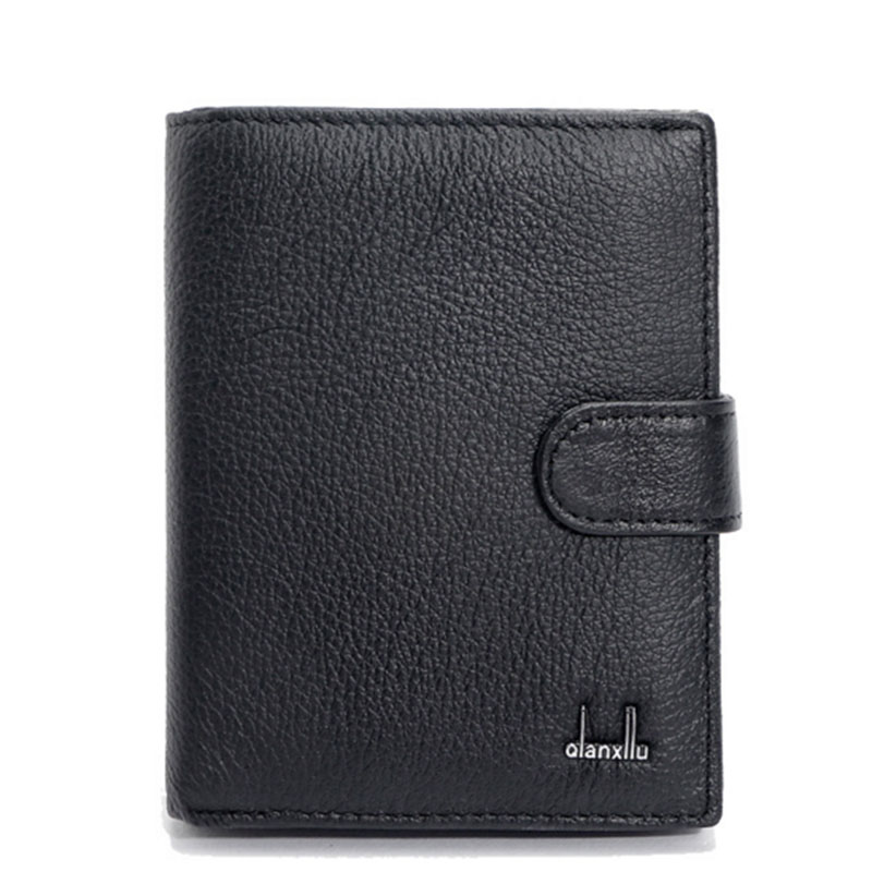 Fashion brand Genuine leather wallet men luxury wallets hasp design coin pocket purse for men short clutch bag card holder purse slymaoyi classical men wallets genuine leather short wallet fashion zipper brand purse card holder wallet man with coin bag page 4
