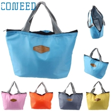 High Quality Waterproof Portable Picnic Insulated Food Storage Box Tote Zipper Lunch Bag Levert Dropship mar6
