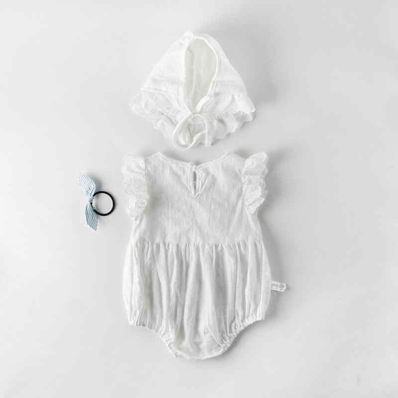 2019 Mùa Hè Cặp Song Sinh Bé Cô Gái Quần Áo Cotton Bodysuit Sơ Sinh Bodysuits Trẻ Em Cô Gái Trang Phục Kazakhstan Sinh Nhật Leo Núi Phù Hợp Với JW7194