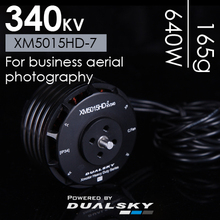 Dualsky Multi-rotor Disc Motor XM5015HD-7 340KV Agricultural Protection Logistics Aerial Camera Drone Parts