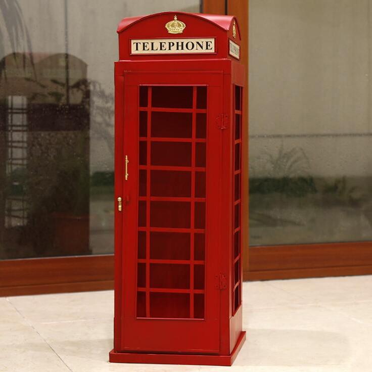Home Decor Telephone Box Telephone Booth Telephone Kiosk
